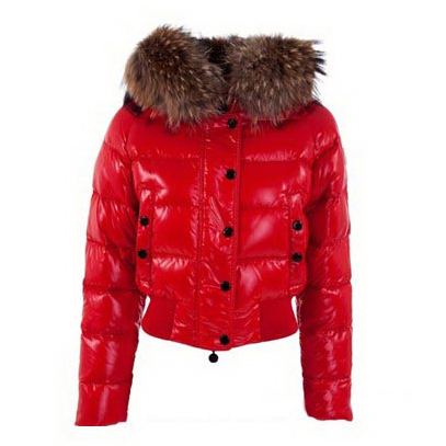Moncler Alpin Women Jacket Red For Sale