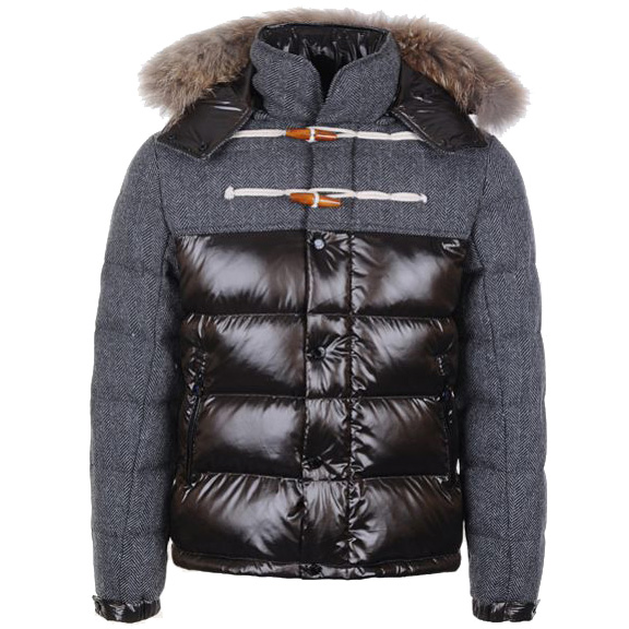 Moncler Anthime Men Jacket Gray For Sale