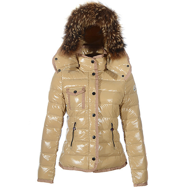 Moncler Armoise Women Jacket Khaki For Sale