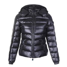 Moncler Baby Women Jacket Black A For Sale
