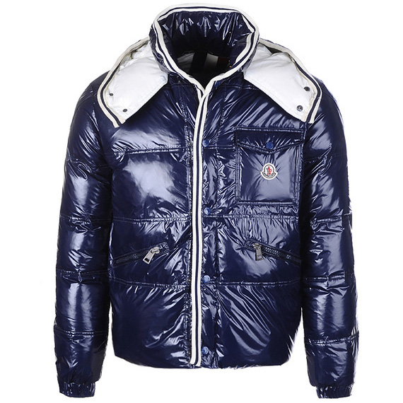Moncler Branson Men Jacket Blue A For Sale