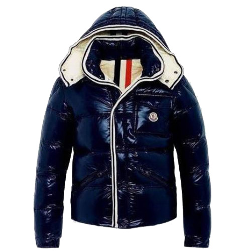 Moncler Branson Men Jacket Blue B For Sale