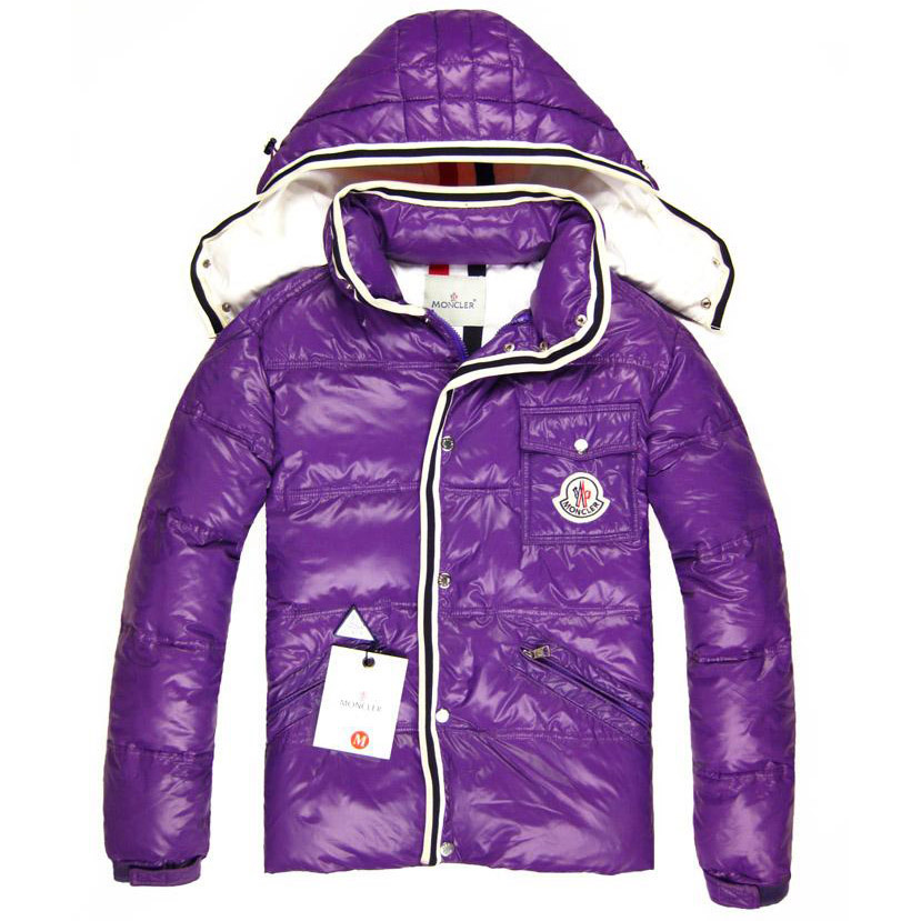 Moncler Branson Men Jacket Purple For Sale
