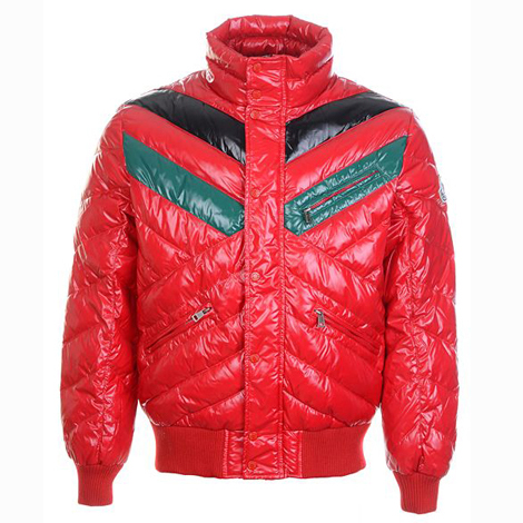 Moncler Bubble Men Jacket Red For Sale