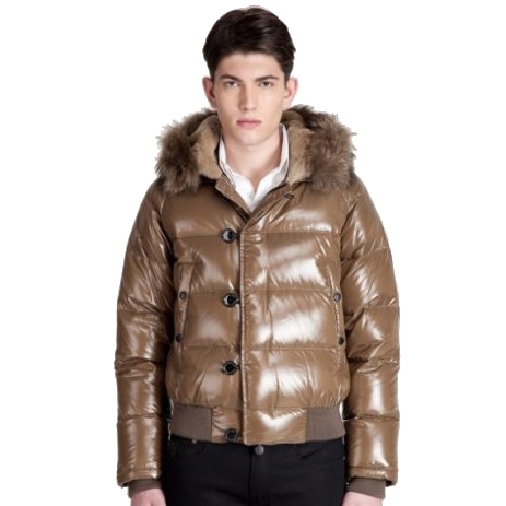 Moncler Bulgarie Men Jacket Beige For Sale