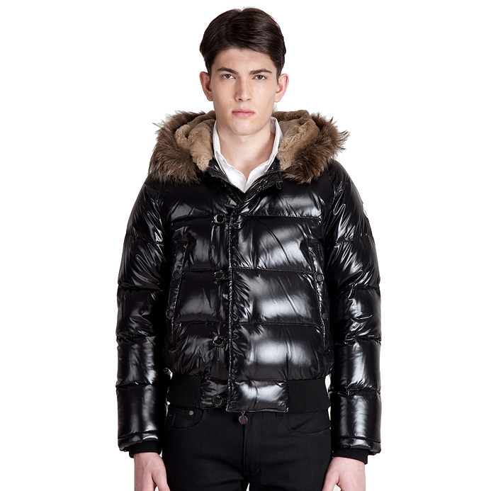 Moncler Bulgarie Men Jacket Black For Sale