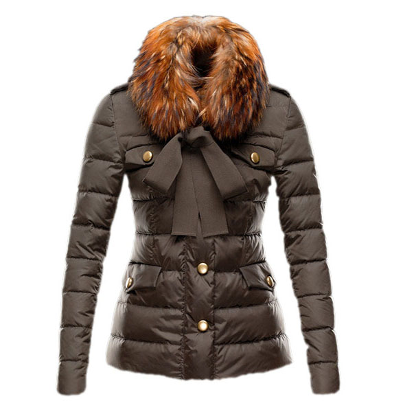 Moncler Cachalot Women Jacket Brown For Sale