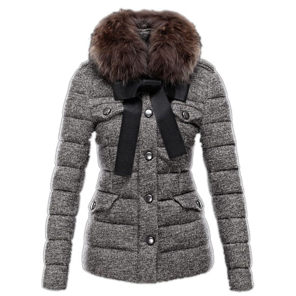 Moncler Cachalot Women Jacket Gray For Sale