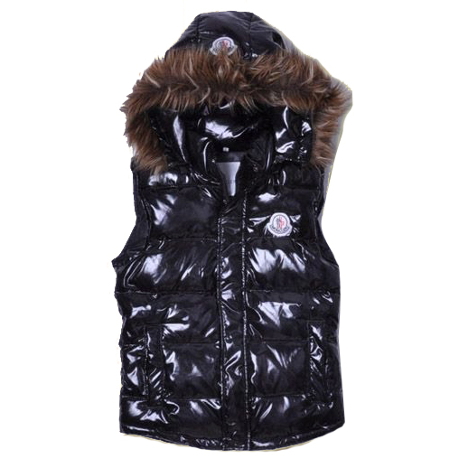 Moncler Casual Mens Vest Black For Sale