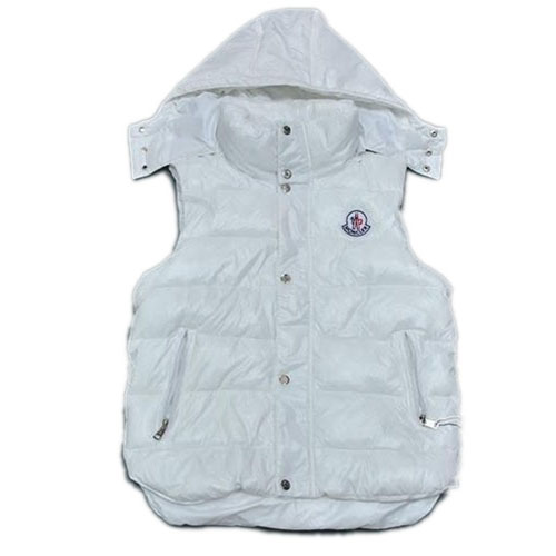 Moncler Casual Mens Vest White For Sale