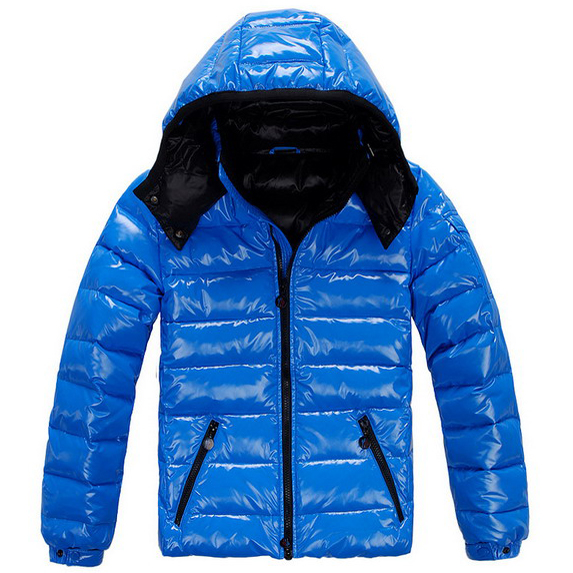 Moncler Chairy Men Jacket Blue For Sale
