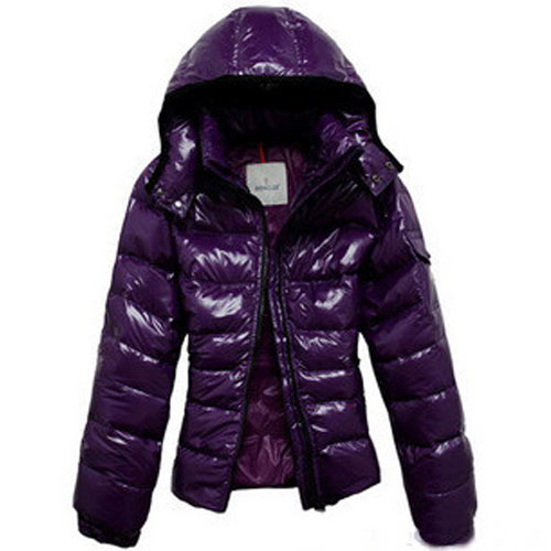 Moncler Clairy Women Jacket Purple For Sale