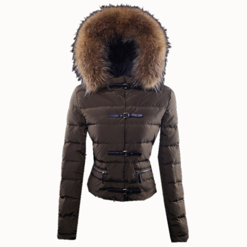 Moncler Crecerelle Women Jacket Brown For Sale