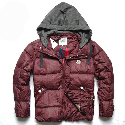 Moncler Demountable Type Men Jacket Carmine For Sale