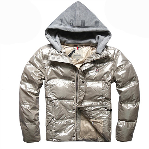 Moncler Demountable Type Men Jacket Gold For Sale