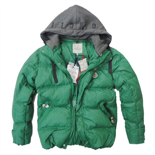 Moncler Demountable Type Men Jacket Green For Sale