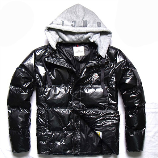 Moncler Demountable Type Men Jacket Light Black For Sale