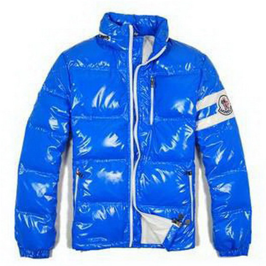 Moncler Eric Men Jacket Blue For Sale