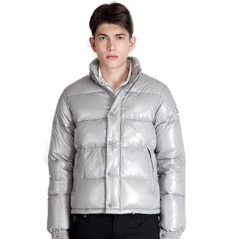 Moncler Everest Men Jacket Silver For Sale