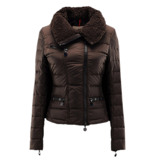 Moncler Frene Women Jacket Coffee For Sale
