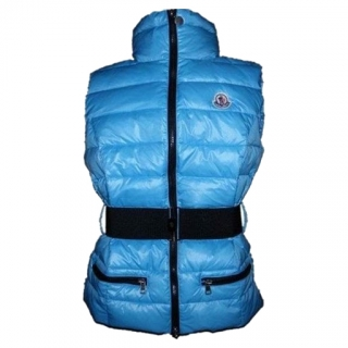 Moncler Gaelle Women Vest Blue For Sale