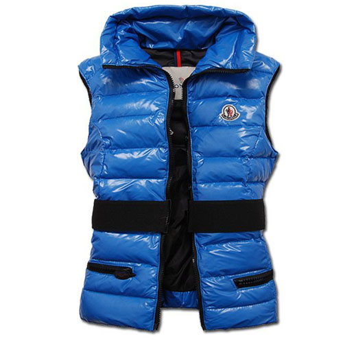 Moncler Gaelle Women Vest Navy For Sale