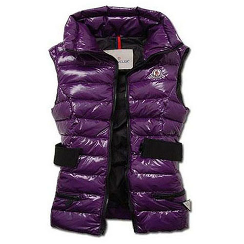 Moncler Gaelle Women Vest Purple For Sale