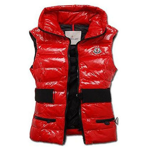 Moncler Gaelle Women Vest Red For Sale