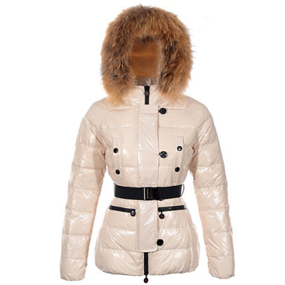 Moncler Gene Women Jacket Beige For Sale