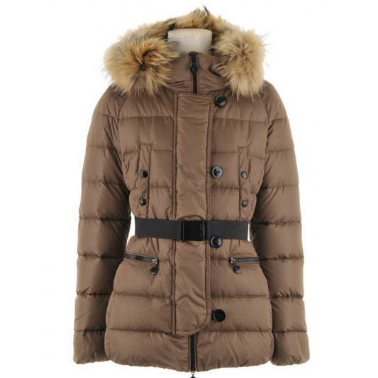 Moncler Gene Women Jacket Brown For Sale