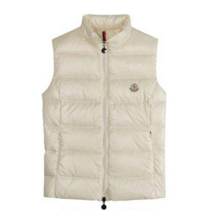 Moncler Ghany Women Vest White For Sale