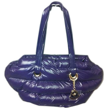 Moncler Handbags Purple For Sale