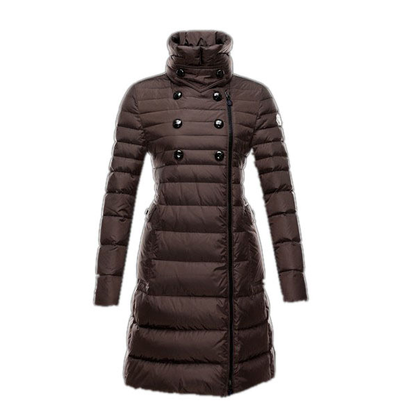 Moncler Herisson Women Coat Brown For Sale