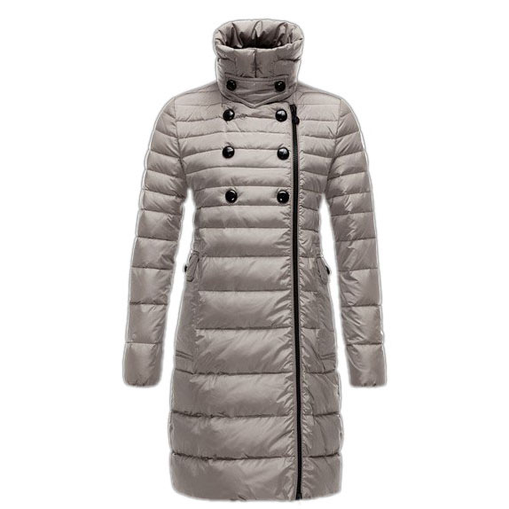 Moncler Herisson Women Coat Gray For Sale