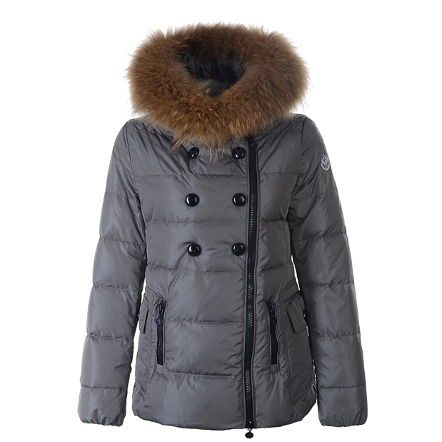 Moncler Herisson Women Jacket Gray For Sale
