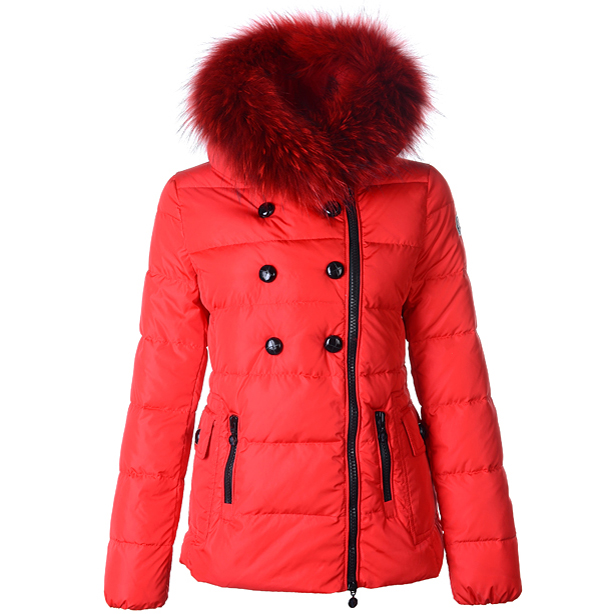 Moncler Herisson Women Jacket Red For Sale