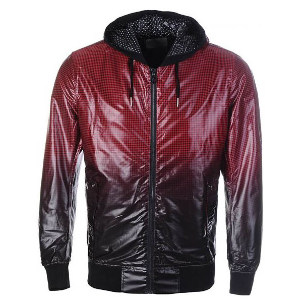 Moncler Kraka Men Jacket Black Red For Sale