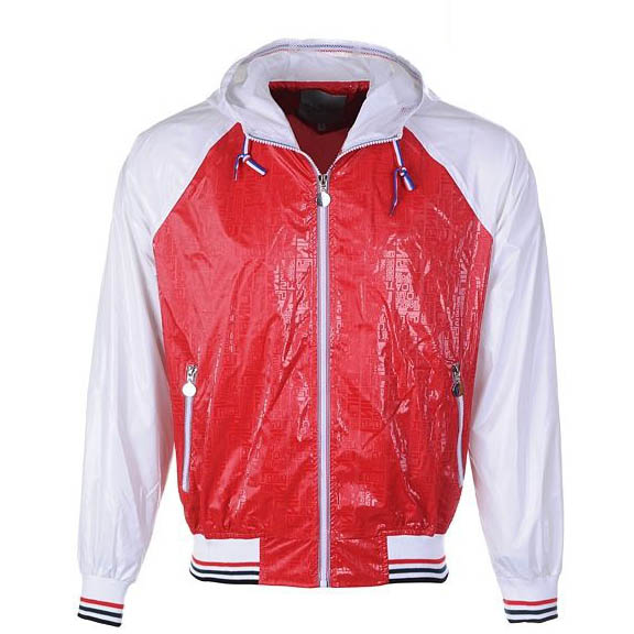 Moncler Kraka Men Jacket Red White For Sale