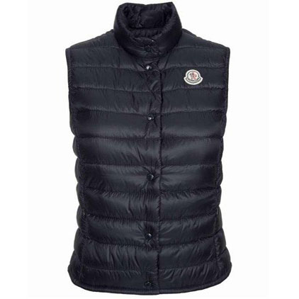 Moncler Liane Women Vest Black For Sale