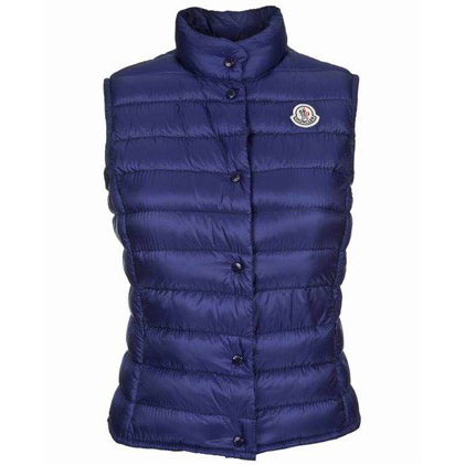 Moncler Liane Women Vest Blue For Sale