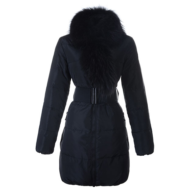 Moncler Lievre Women Coat Black For Sale