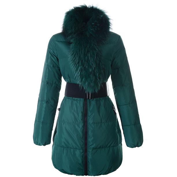 Moncler Lievre Women Coat Green For Sale