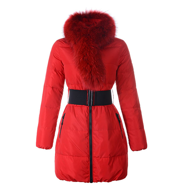 Moncler Lievre Women Coat Red For Sale