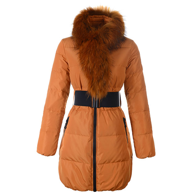 Moncler Lievre Women Coat Yellow For Sale