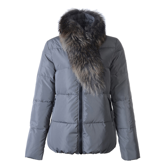 Moncler Lievre Women Jacket Gray For Sale