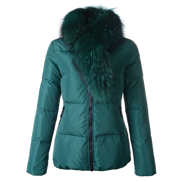 Moncler Lievre Women Jacket Green For Sale