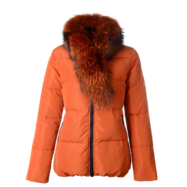 Moncler Lievre Women Jacket Orange For Sale