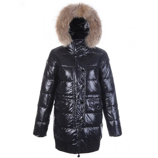 Moncler Loire Women Coat Black For Sale