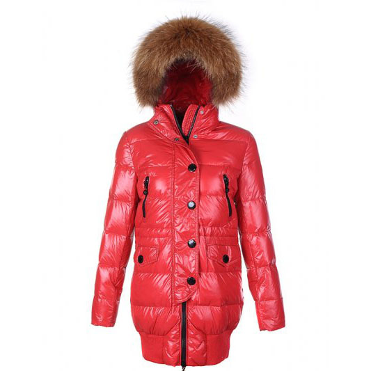 Moncler Loire Women Coat Red For Sale