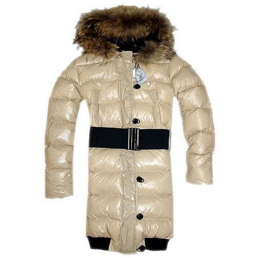 Moncler Lucie New Pop Star Women Coat Beige For Sale